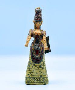 The mother snake goddess terra-cotta statue (22cm)