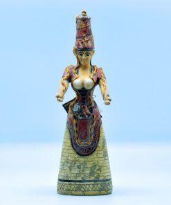 The mother  snake goddess terra-cotta statue (28,5cm)