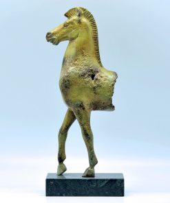Oxidized bronze Acropolis horse (32 cm)