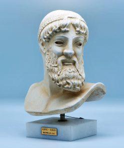 Zeus terracotta statue (27 cm)