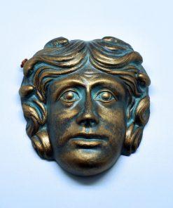 Medusa ceramic theatrical mask (16 cm)