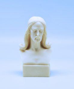 Jesus Christ alabaster statue (14 cm)