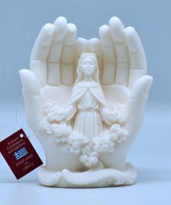 Alabaster statue (15 cm)