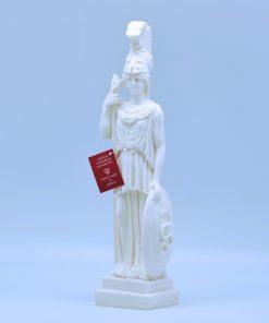 Athena alabaster statue (25 cm)