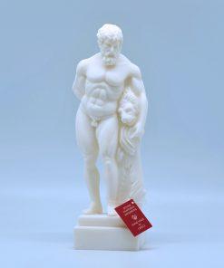 Hercules alabaster statue (25 cm)