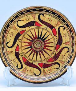 Geometric plate (16 cm)