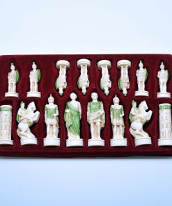 Alabaster pawns (9 cm)