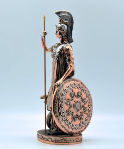 Athenas copperplated statue (30 cm)