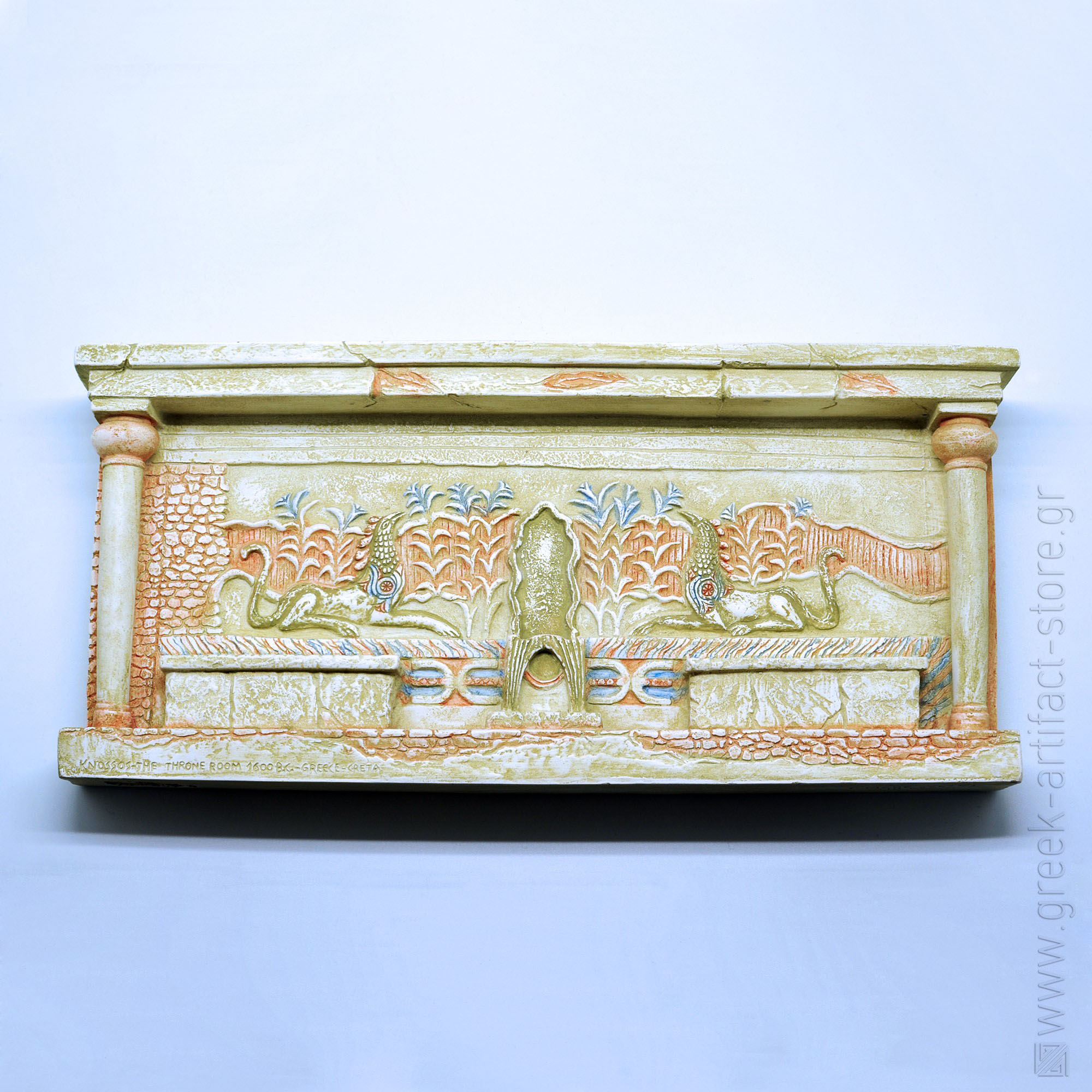 The Throne Room relief (40X20 cm)