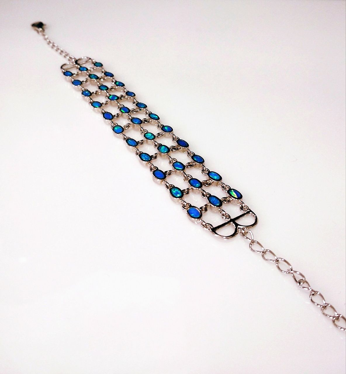 Handmade 925 Silver Bracelet  (8mm X 19,5cm)