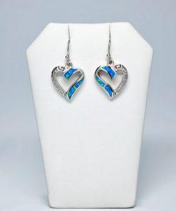 Handmade Hanging  Silver earrings 925 (17mm X 20mm)