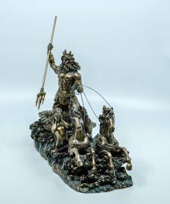 Archangel-Michael Handmade Bronze Plated Statue (73cm)