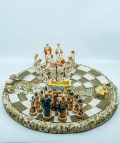 Handmade Alabaster Chess Board (38X38cm/14.96''X14.96'')