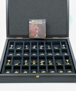 Handmade Bronze Chess Set (34X34cm/13.38''X13.38'')